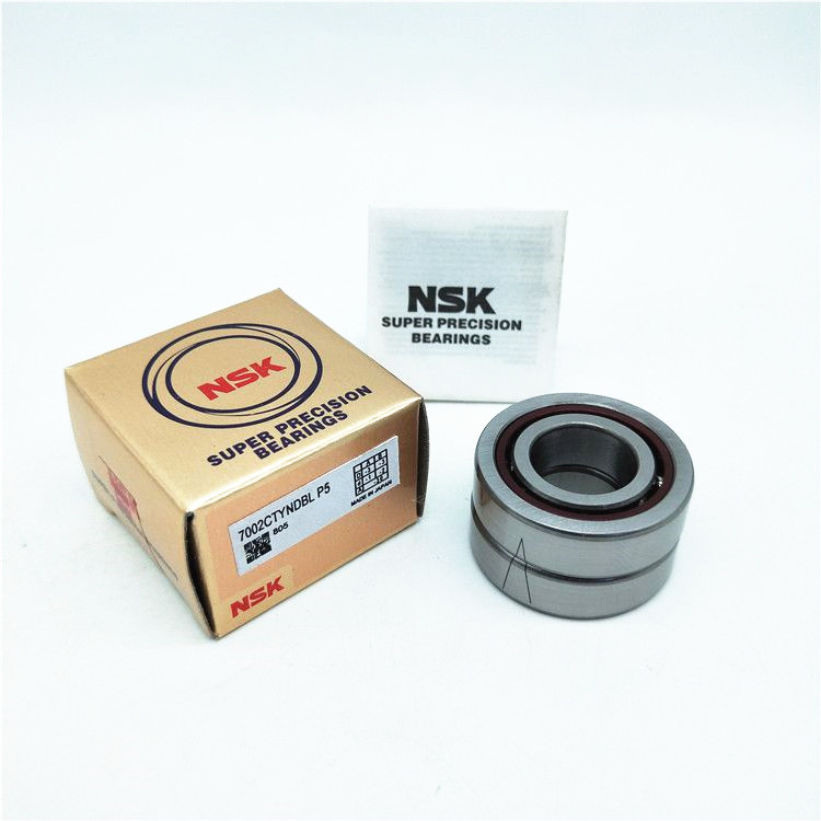 Original NSK high-speed precision angle contact bearing 7002 CTYNDBL P4