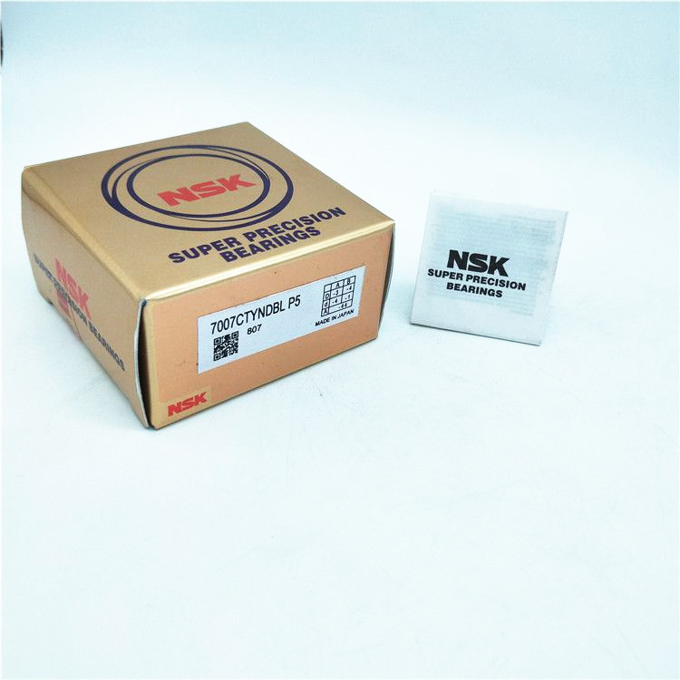 NSK 7007CTYNDBL P5 ABEC-5 Super Precision Angular Contact Bearing. Set of Two