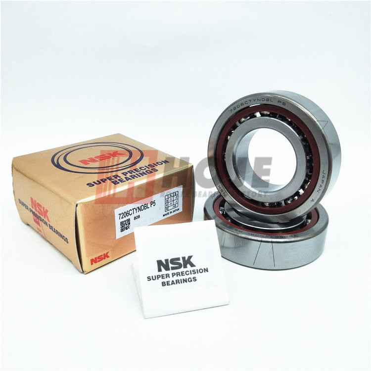NSK 7204-C 7205-C 7206-C TYN-DBL-P5 Super Precision Spindle Bearing